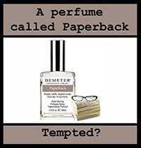 A perfume called Paperback