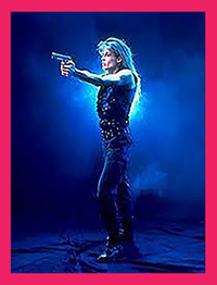 Sarah Connor played Linda Hamilton in film Terminator 2