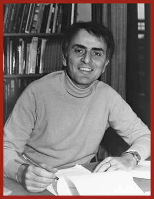 Image of author Carl Sagan