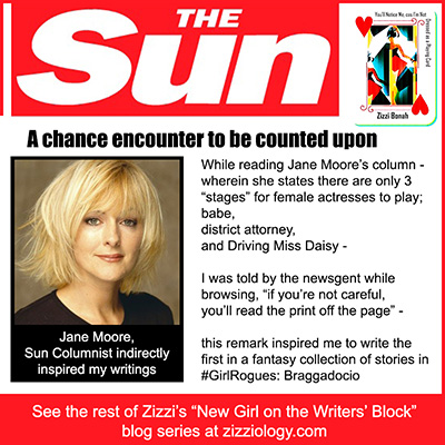 banner showing The Sun columnist Jane Moore