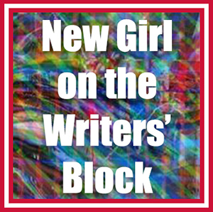 "Banner for ""New Girl on the Writers' Block"" blog series at zizziology.com"