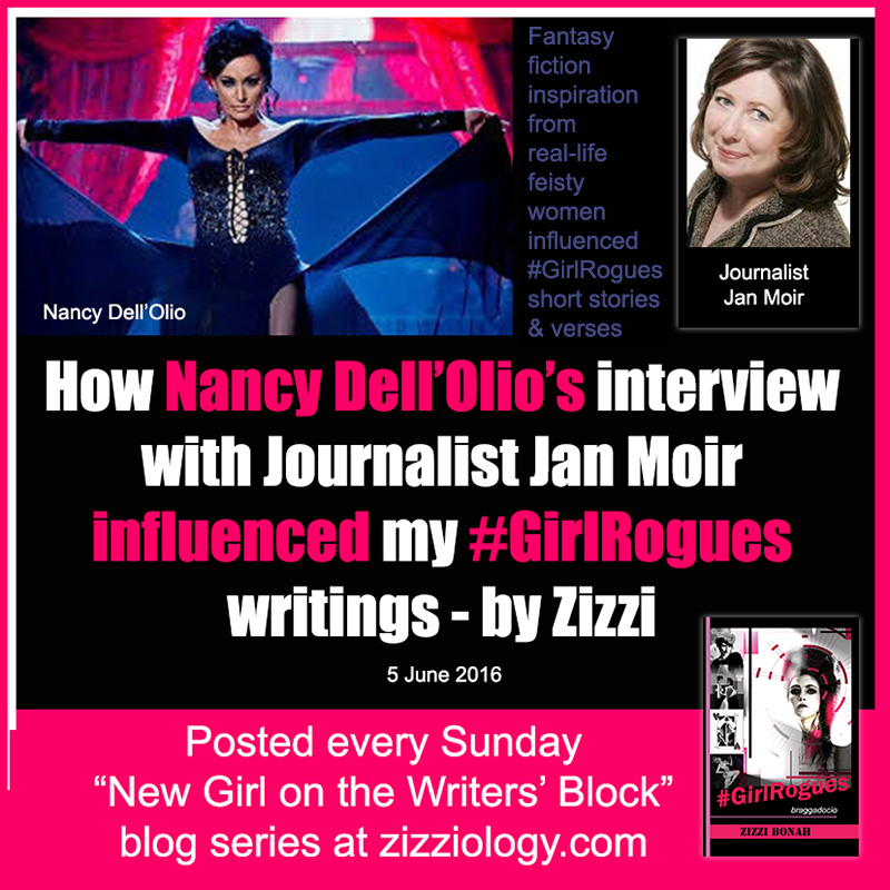 Nancy Dell'Olio influenced #GirlRogues by Zizzi Bonah