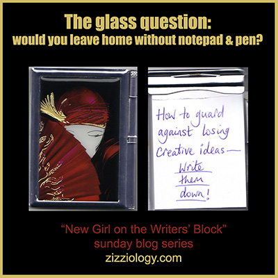 banner: the glass question by zizzi bonah